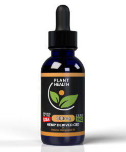 Plant Health 500mg Broad Spectrum CBD - CBD For Pets - CBD For Dogs