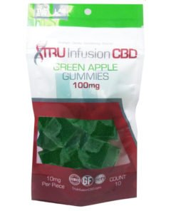 Tru-Infusion-Green-Apple-CBD-Gummies-100mg