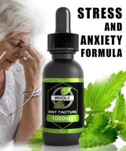 PLANT-HEALTH-1000MG-WHOLE-MINT-CBD-FOR-STRESS-CBD FOR ANXIETY FORMULA-NEW