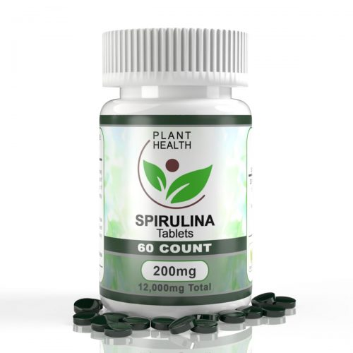 PLANT-HEALTH-200MG-SPIRULINA-TABLETS L1